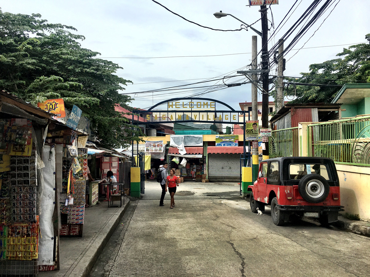 Colorful streets of Paranaque.