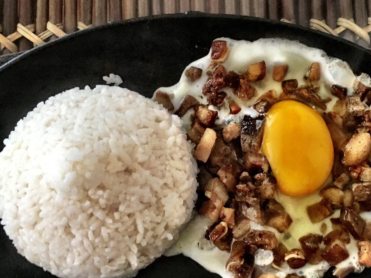 This is another local Philippines dish but I forgot the name.